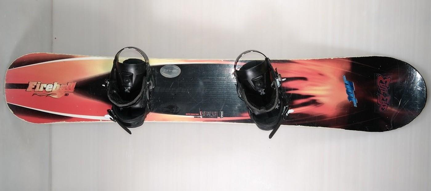 Snowboard HOT Fireball 161cm