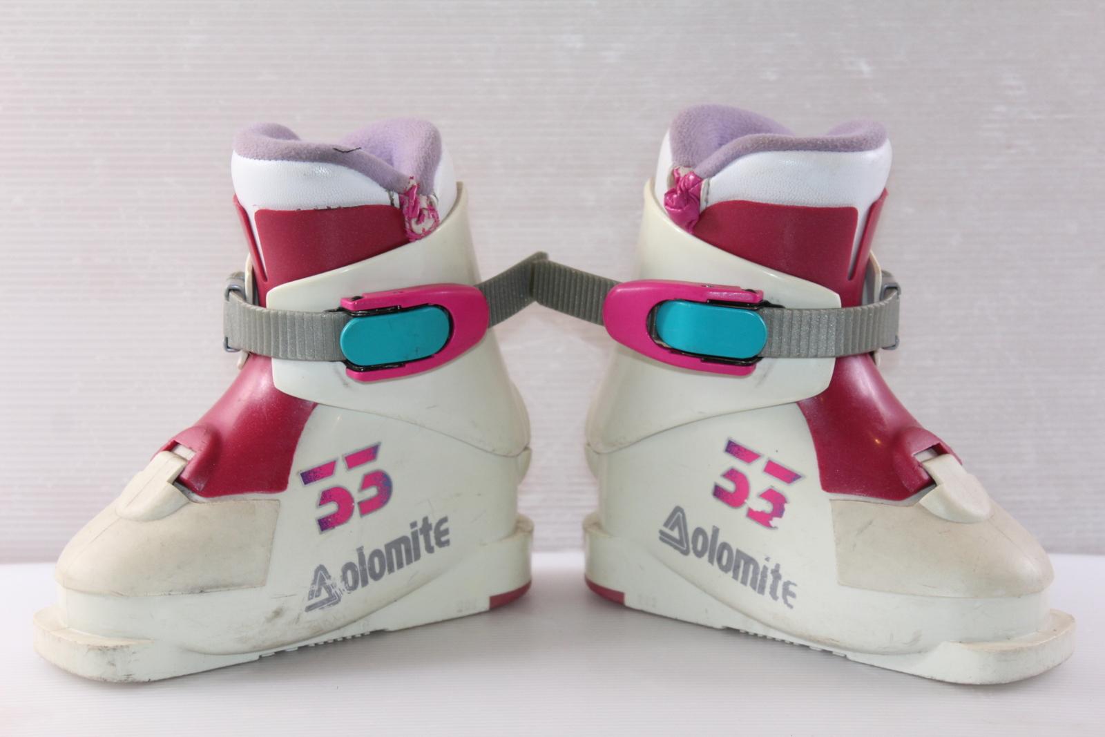 Dětské lyžáky Dolomite 33 vel. EU24