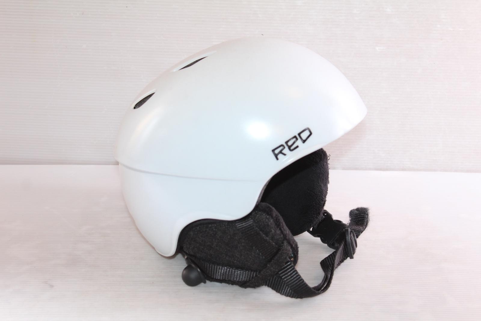 Dámská lyžařská helma Red Hi-Fi vel. 54