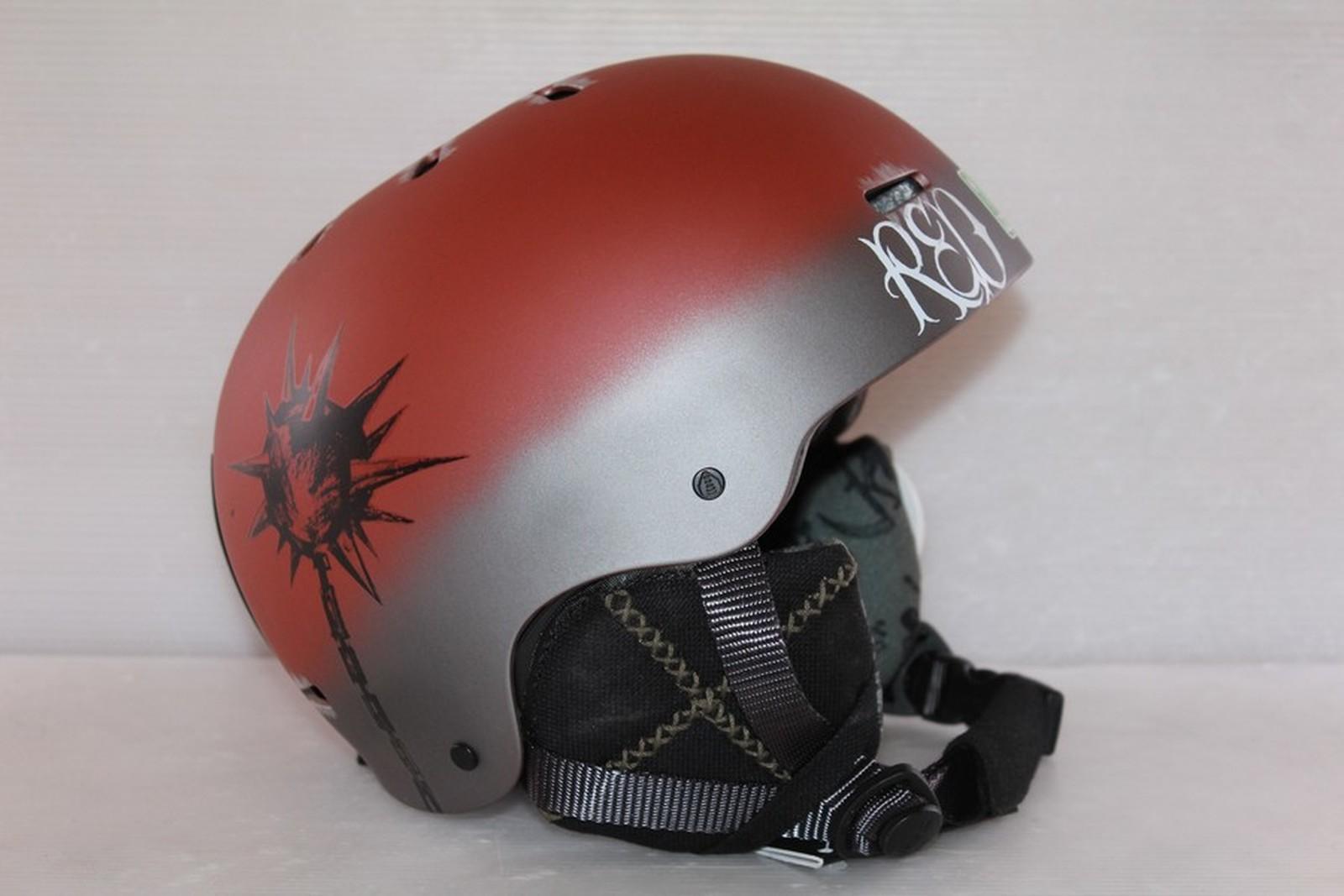 Dámská lyžařská helma RED Trace - posuvná vel. 51 - 53