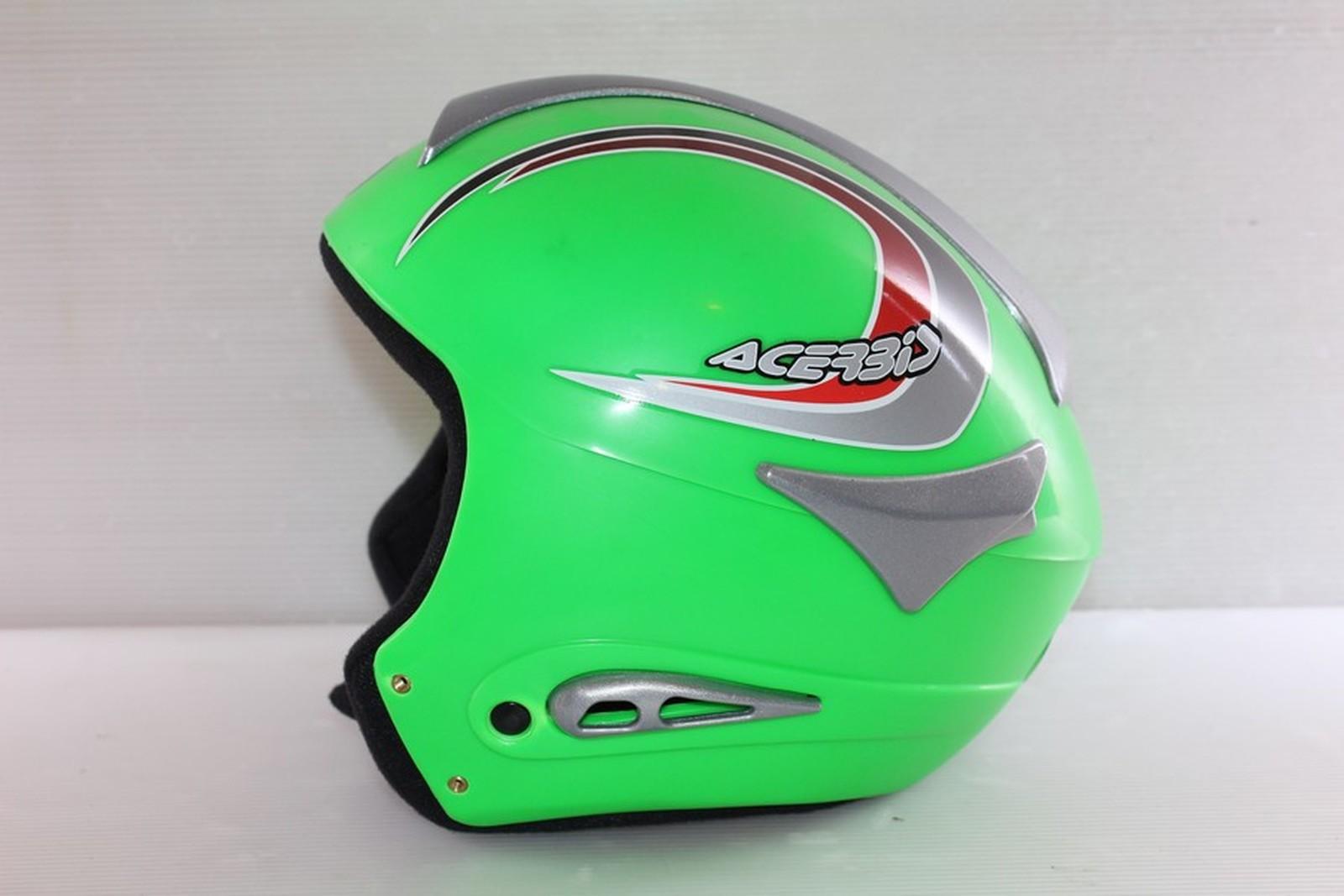 Lyžařská helma Acerbis Green vel. 58