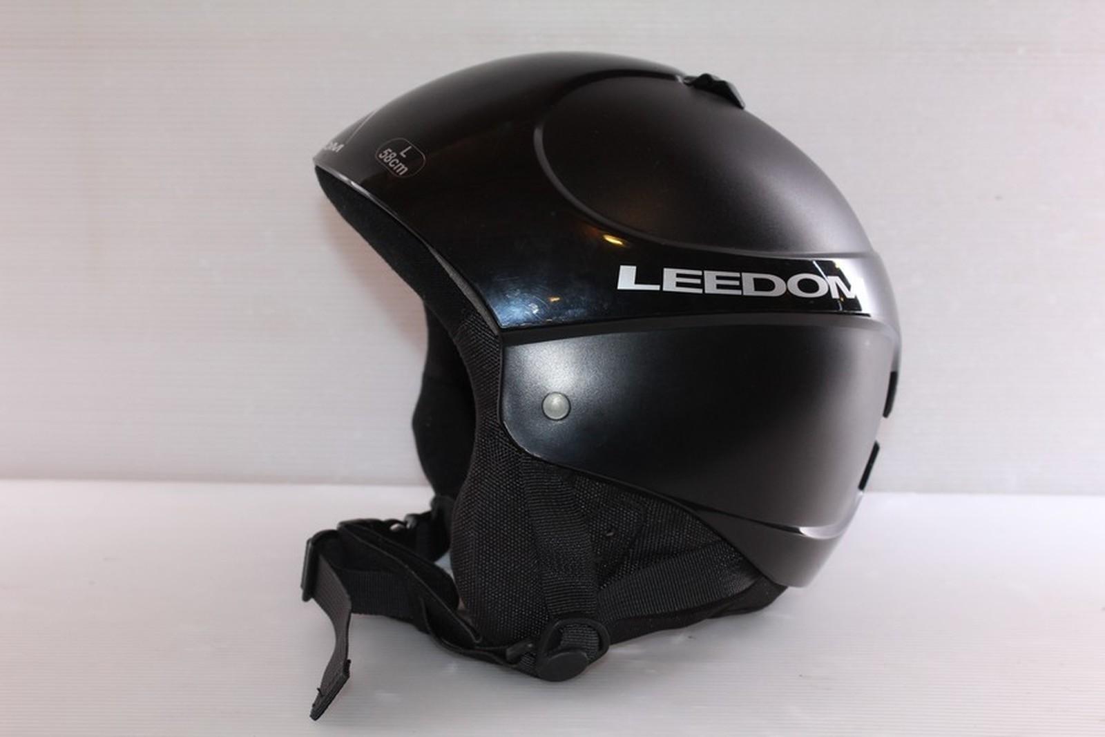 Lyžařská helma Leedom Black vel. 58