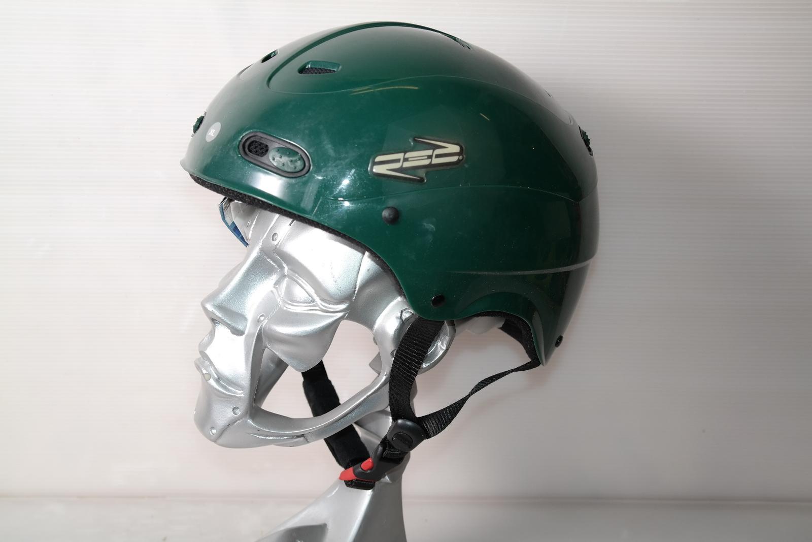 Lyžařská helma RED Decaff Alpine Green - posuvná vel. 60 - 61