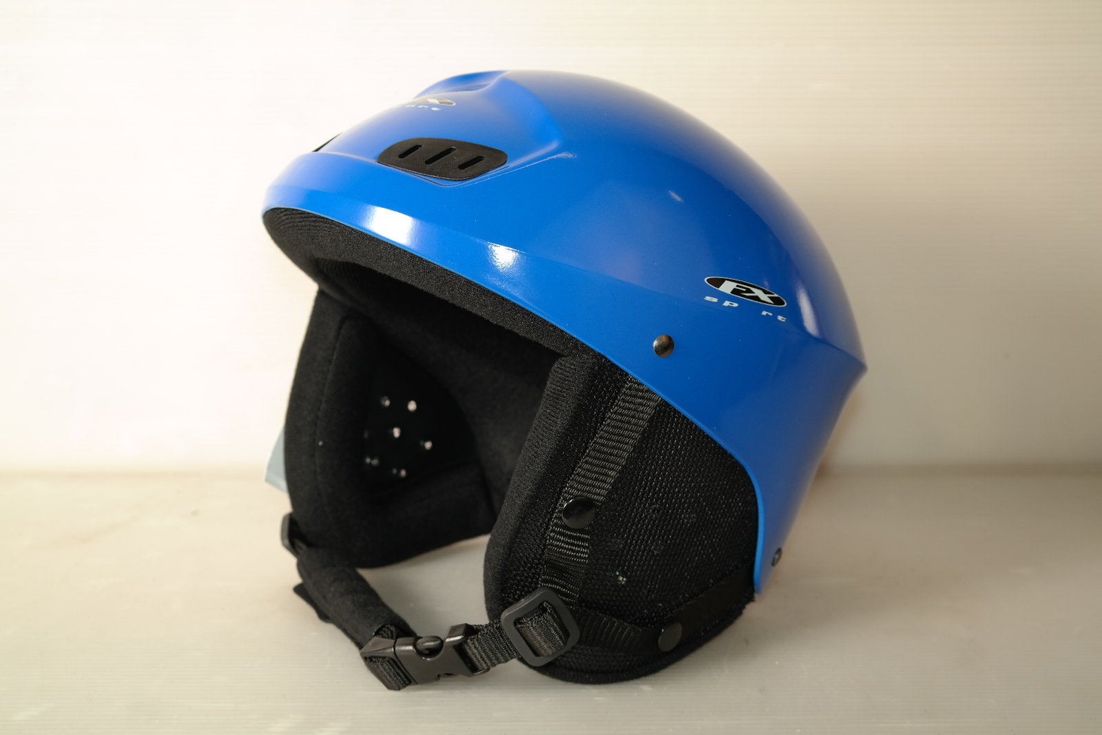 Dámská lyžařská helma DX Sport Blue - posuvná vel. 50 - 52