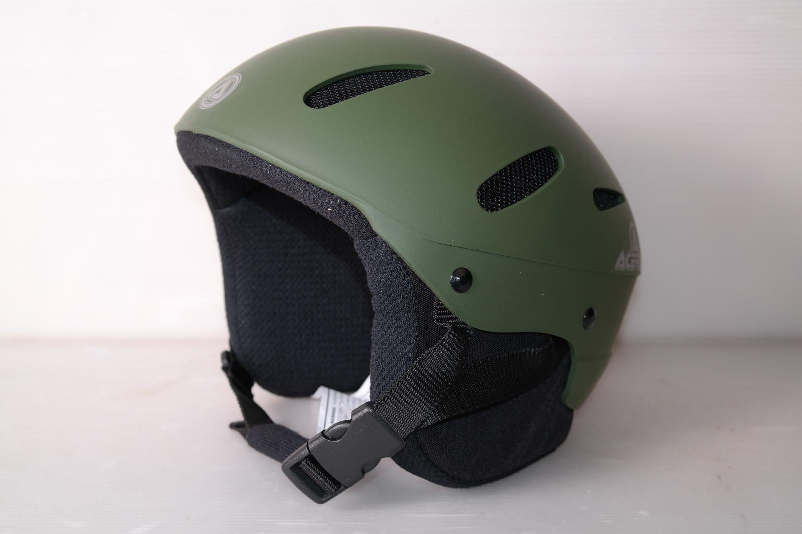 Lyžařská helma Acerbis Verde Oliva Gom vel. 58