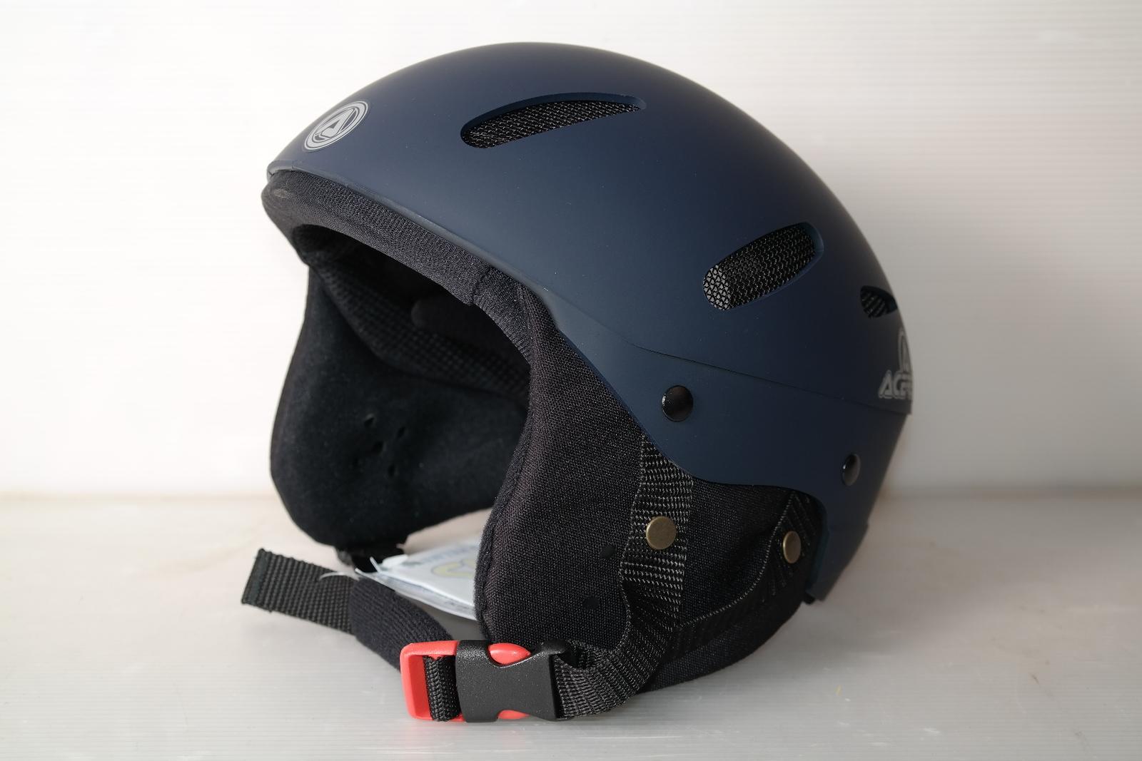 Lyžařská helma Acerbis Blue Navy Gommatto vel. 60