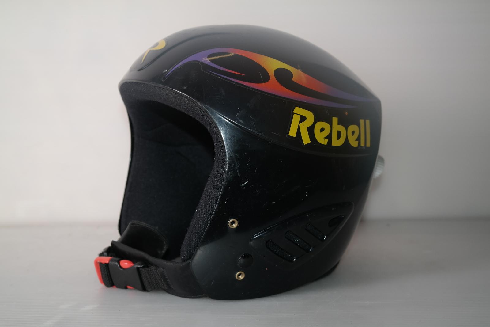 Dětská lyžařská helma Rebell  vel. 50