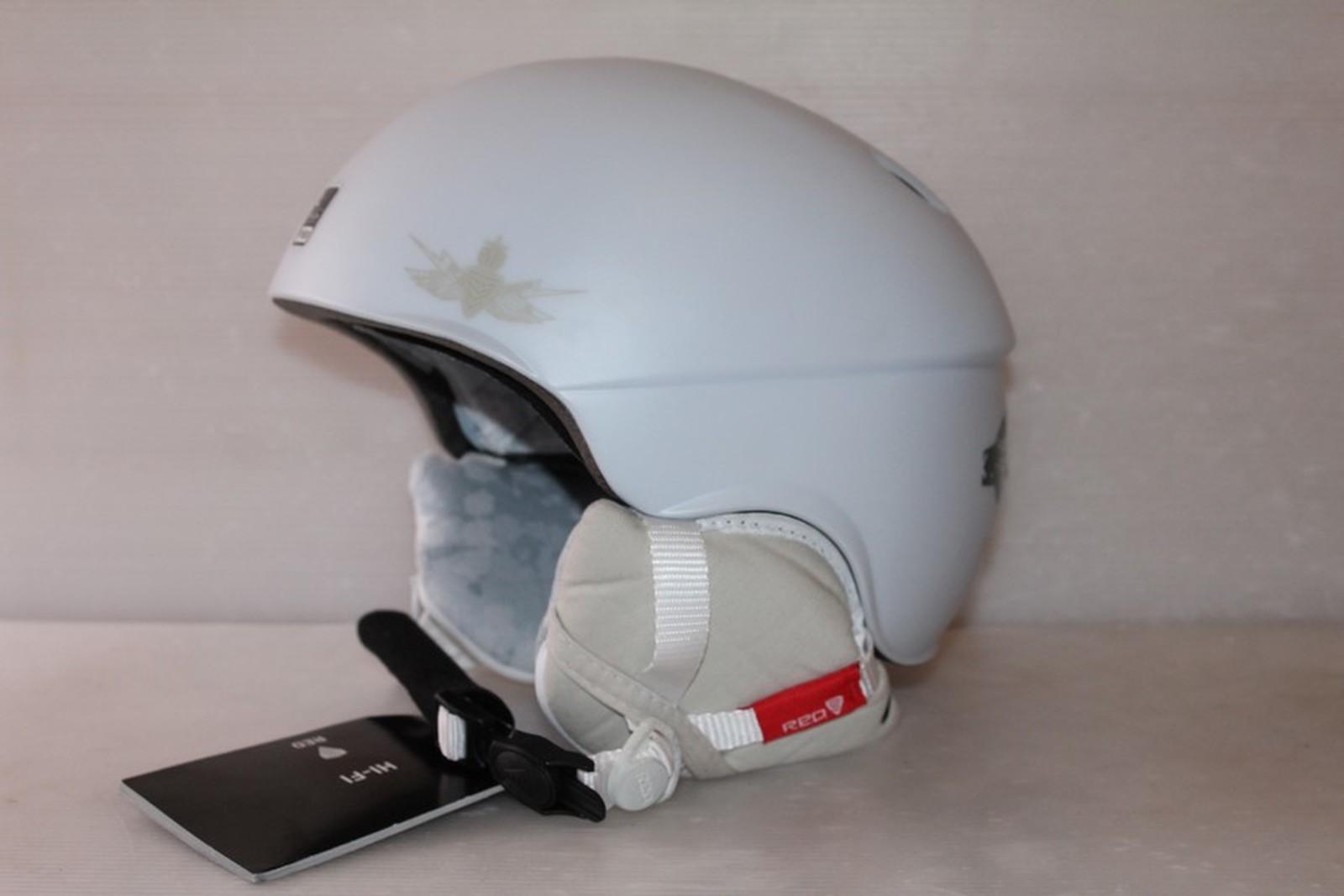 Lyžařská helma RED Hi-fi - posuvná vel. 59 - 61