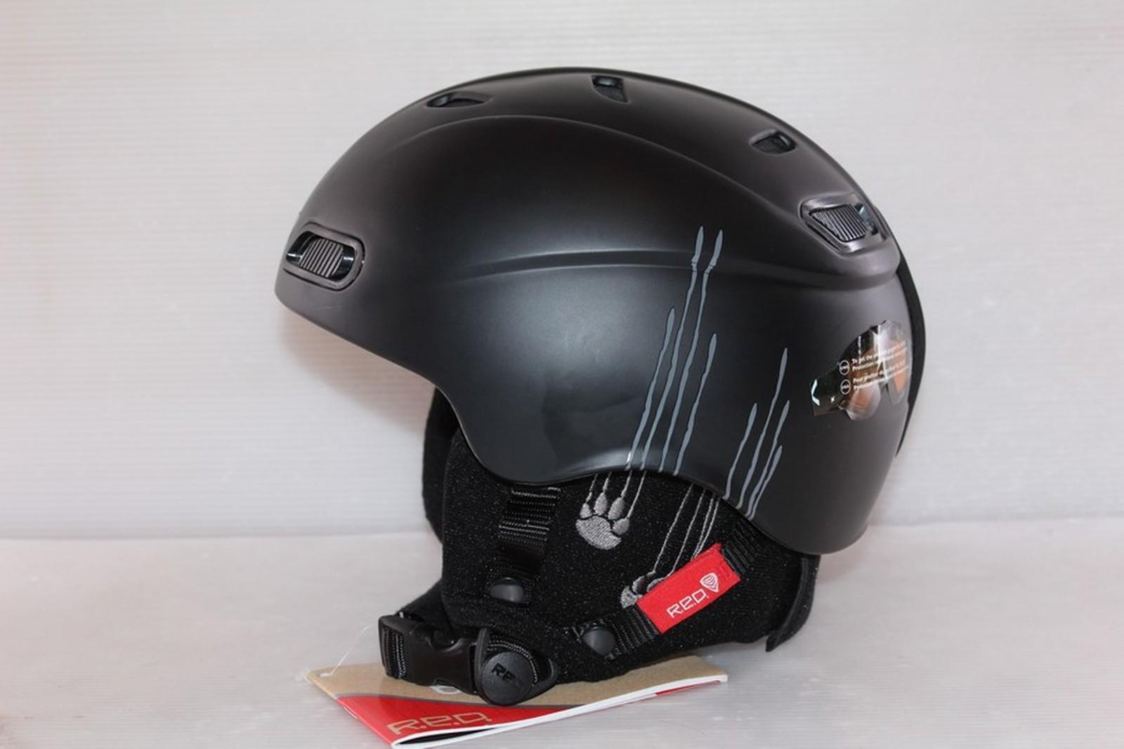 Lyžařská helma RED Buzz-cap posuvná - posuvná vel. 51 - 53