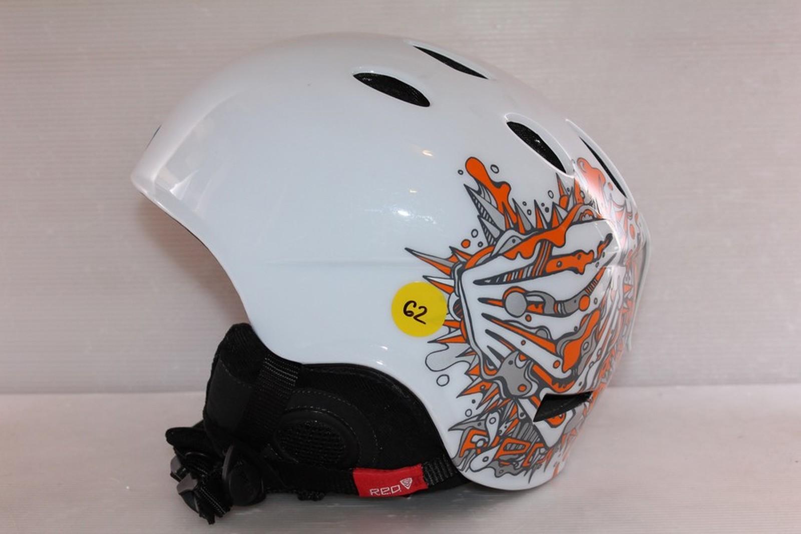Lyžařská helma RED Hi-fi - posuvná vel. 61 - 63