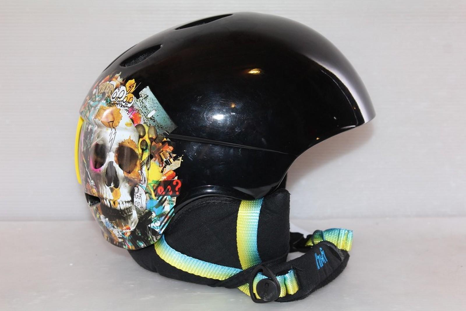 Dámská lyžařská helma RED Hi-fi - posuvná vel. 59 - 61