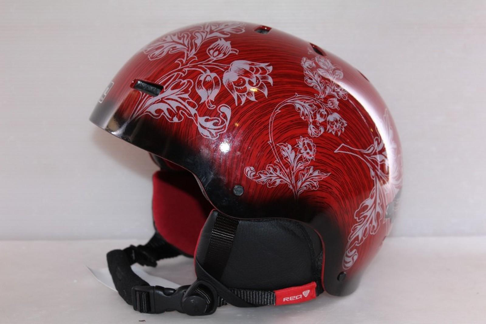 Dámská lyžařská helma RED Trace - posuvná vel. 61 - 63