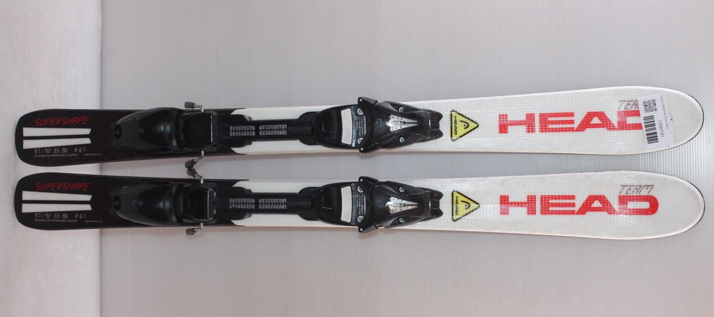 Dětské lyže HEAD SUPERSHAPE TEAM 100cm