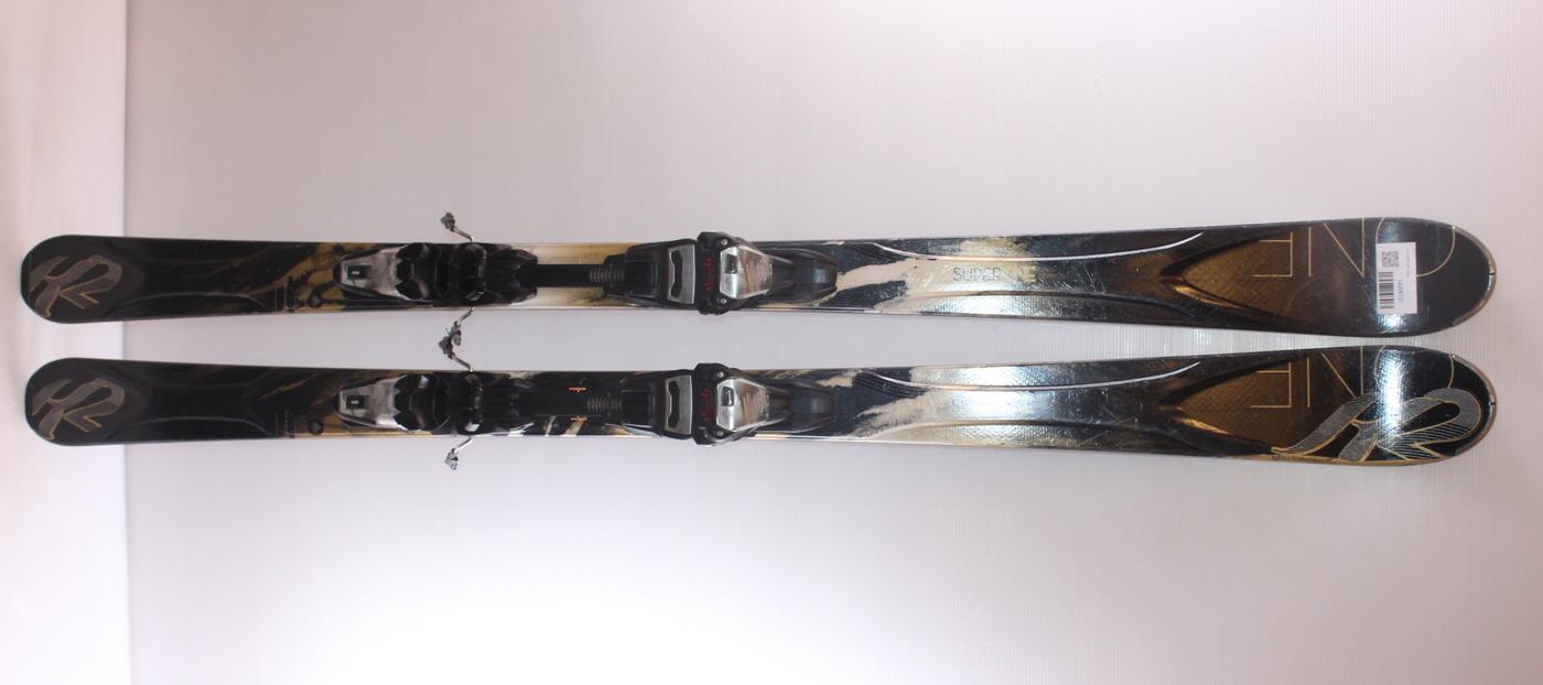 Dámské lyže K2 SUPER ONE 160cm rok 2014