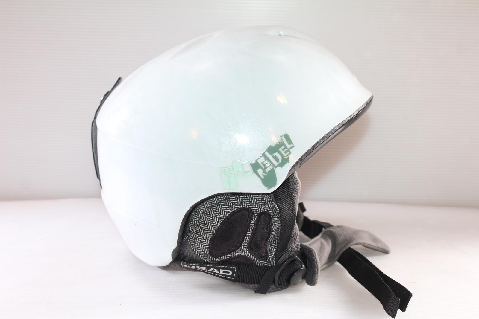 Lyžařská helma Head Rebel White vel. 54