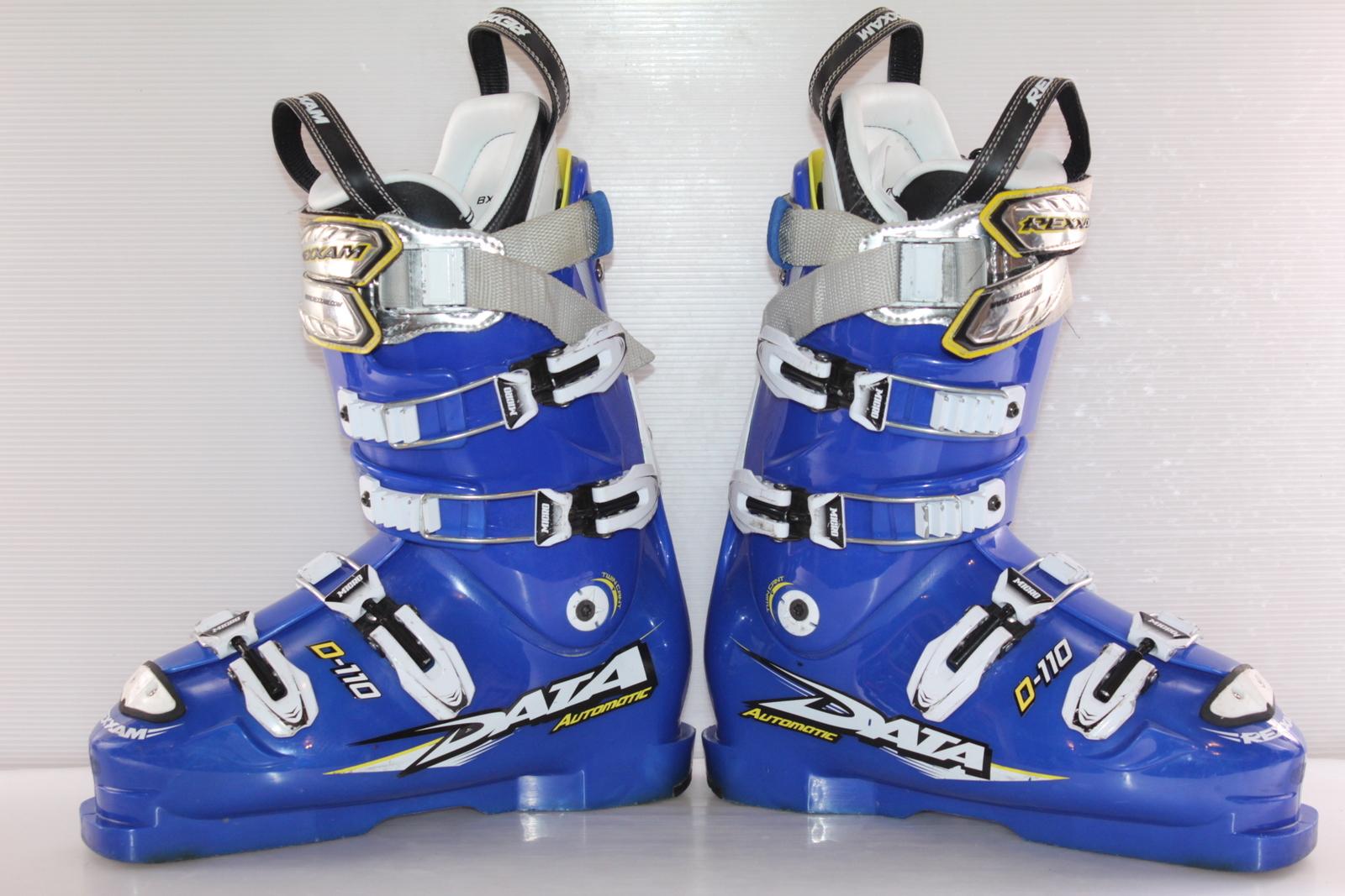 Lyžařské boty Rexxam Data Automatic D-110 vel. EU42 flexe 110