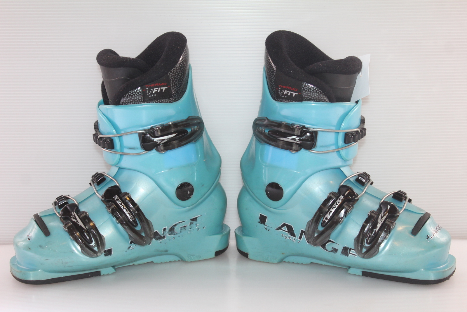 Dětské lyžáky Lange Comp 60 Team R vel. EU30.5
