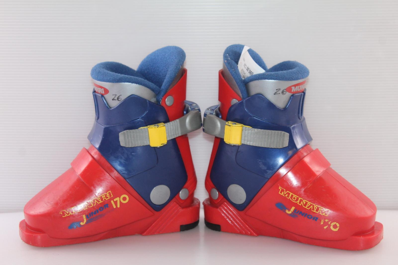 Dětské lyžáky Munari Junior 170 vel. EU26