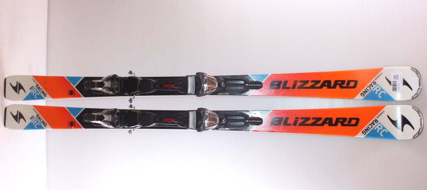 Lyže BLIZZARD RC Ti 154cm rok 2016