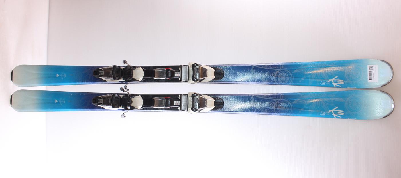 Dámské lyže K2 LUV 75 163cm rok 2016