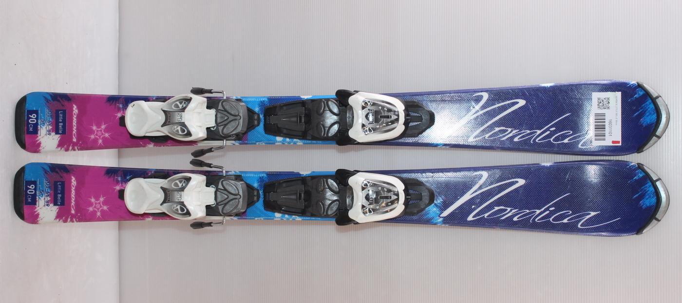Dětské lyže NORDICA LITTLE BELLE 90cm