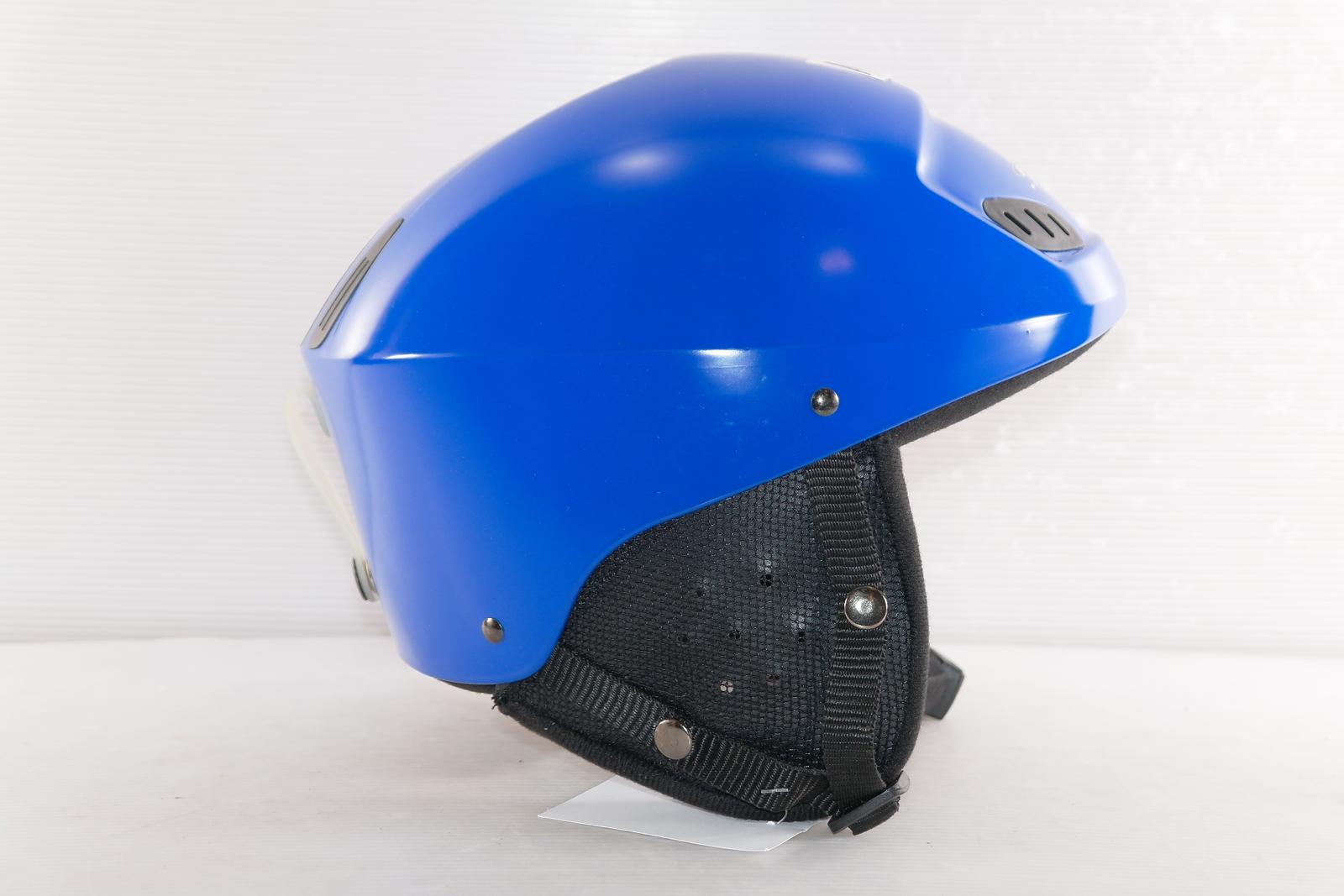 Dámská lyžařská helma FX Sport Blue - posuvná vel. 53 - 55