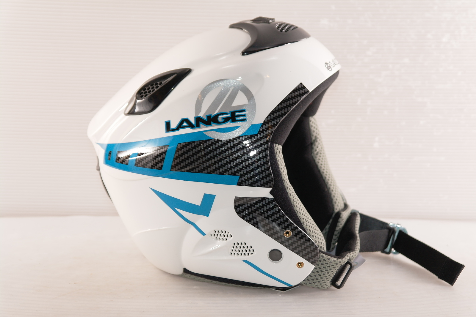 Dětská lyžařská helma Lange Race Jr vel. 52
