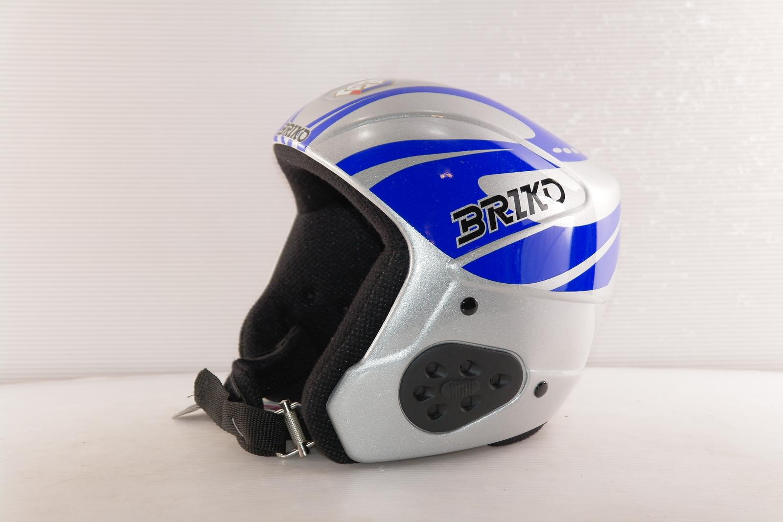 Dětská lyžařská helma Briko Windshape World Cup Team vel. 54