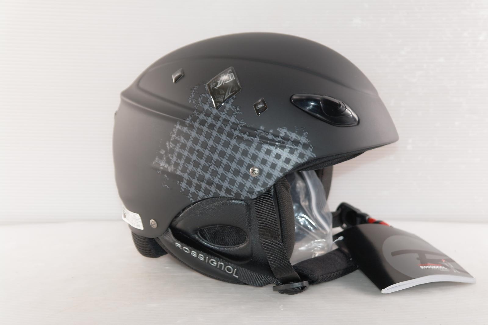 Dámská lyžařská helma Rossignol Toxic Blk vel. 54