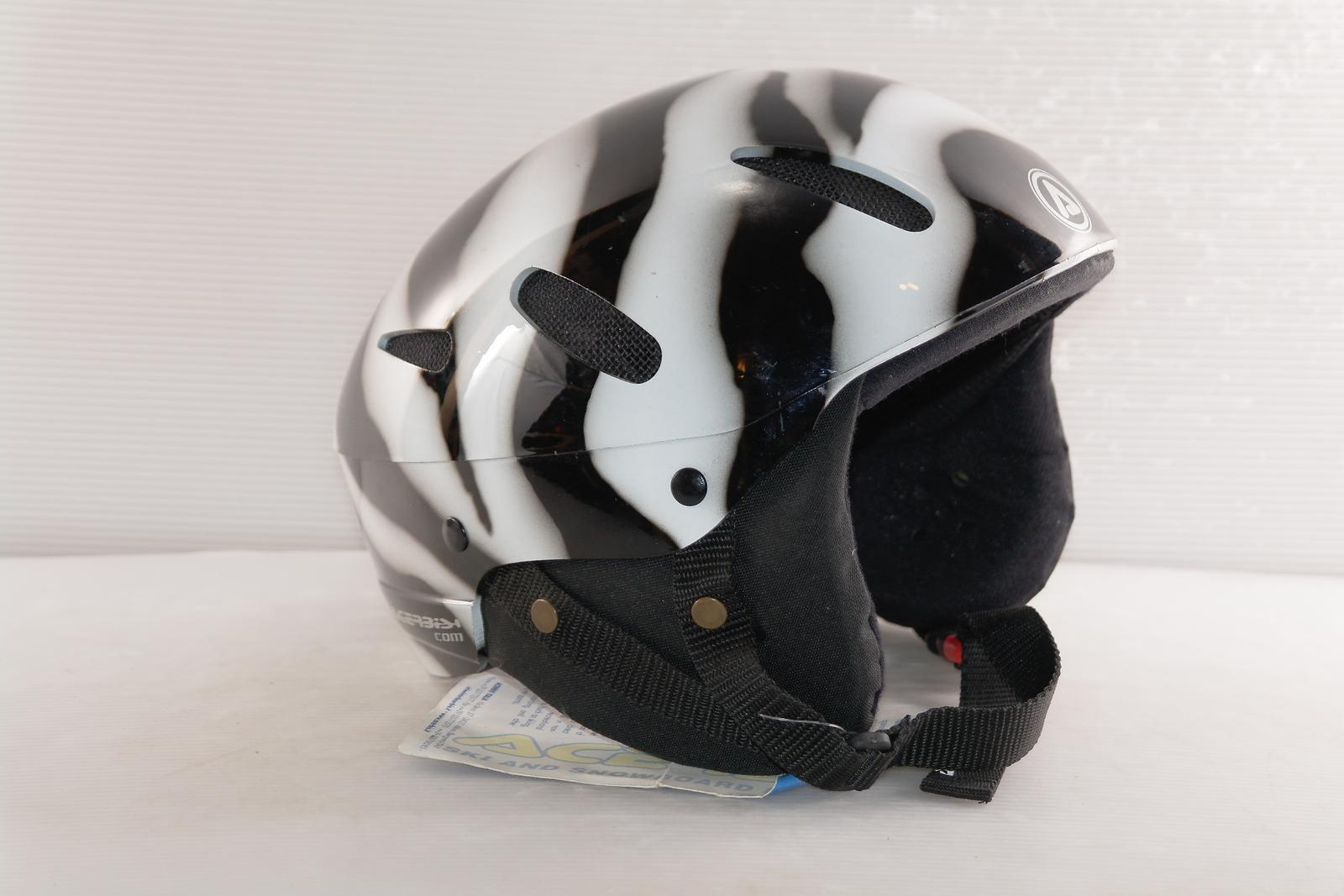 Dámská lyžařská helma Acerbis Zebra vel. 58