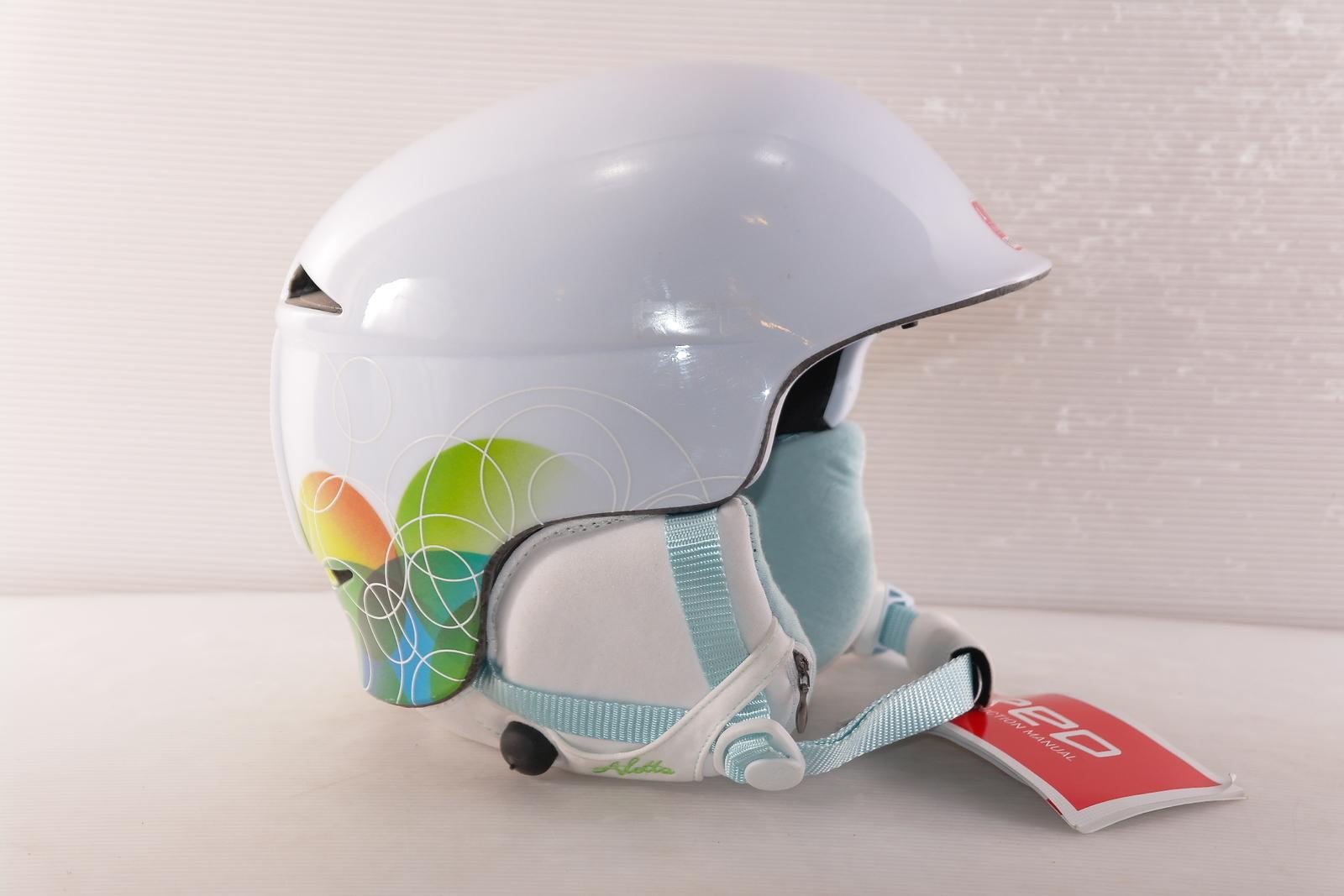 Dámská lyžařská helma Red Aletta - posuvná vel. 59 - 61
