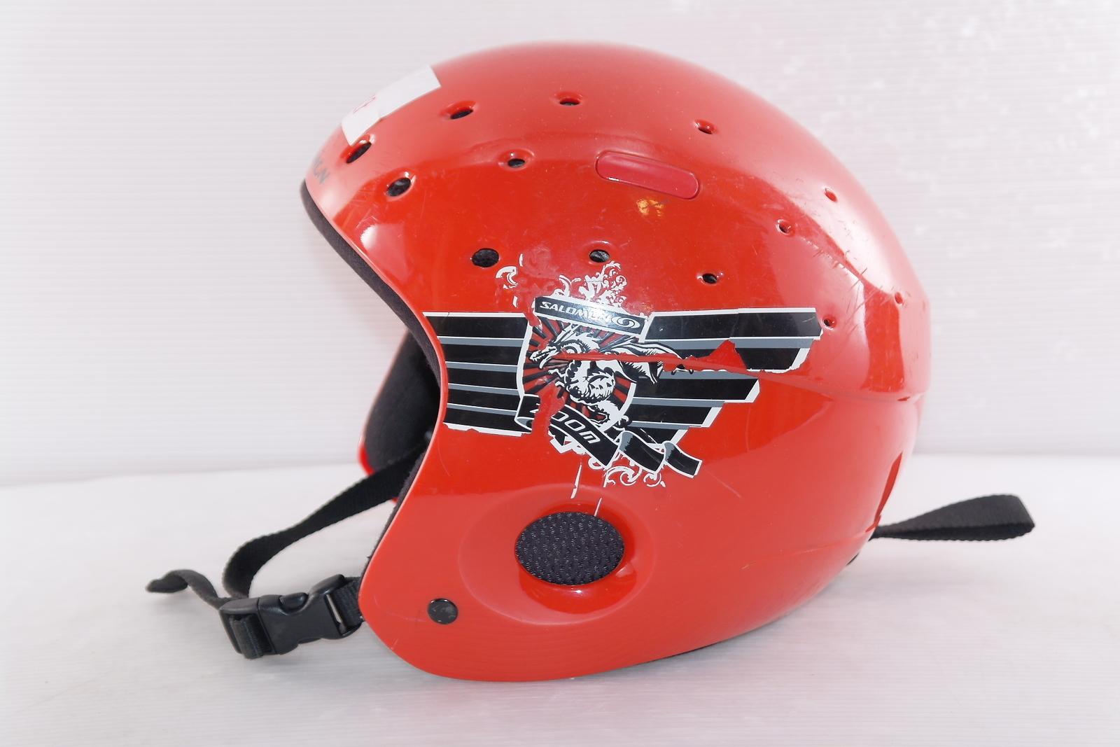 Lyžařská helma Salomon  - posuvná vel. 55 - 56