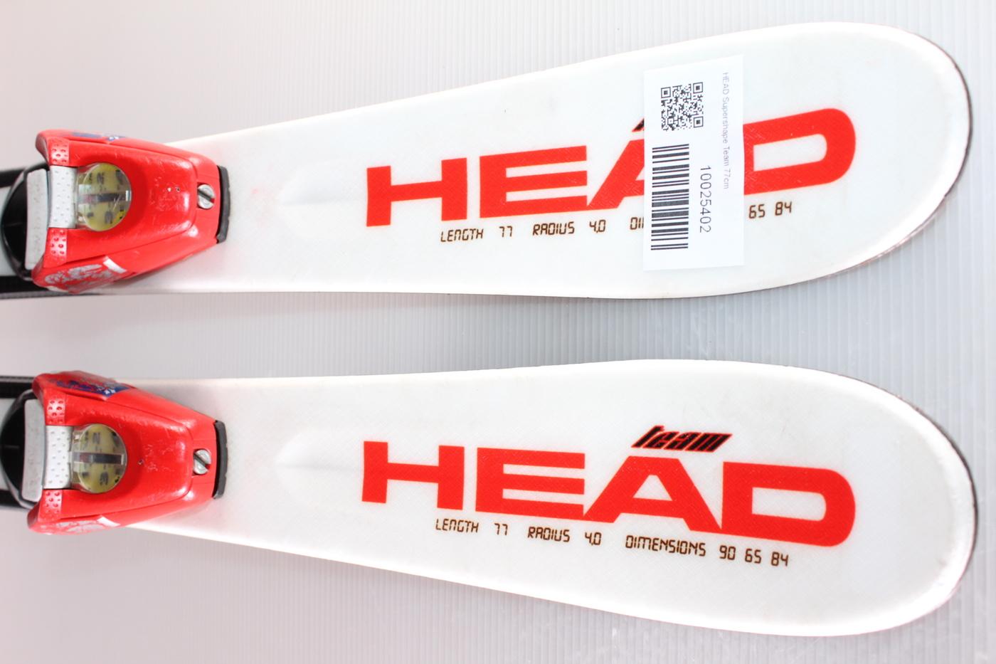 Dětské lyže HEAD Supershape Team 77cm