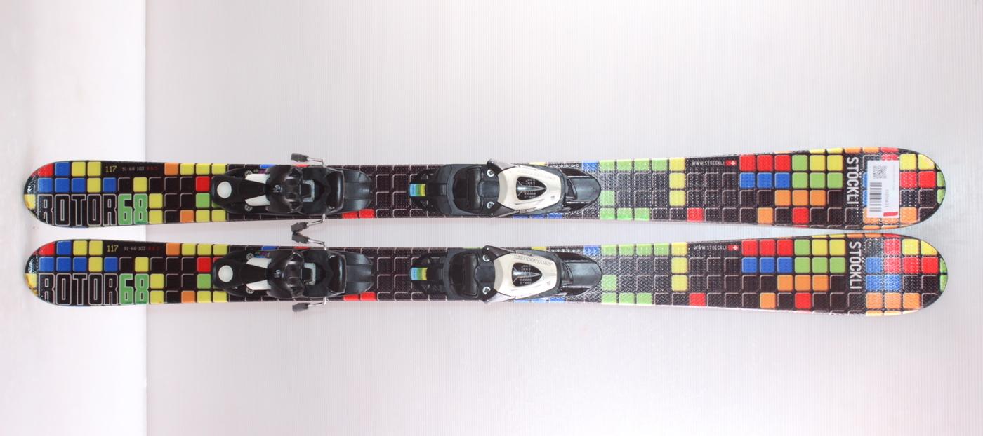 Dětské lyže STOCKLI ROTOR 117cm