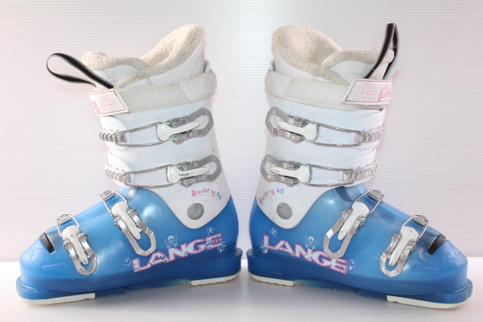 Dívčí lyžáky Lange Starlet Rsj 60 vel. EU37