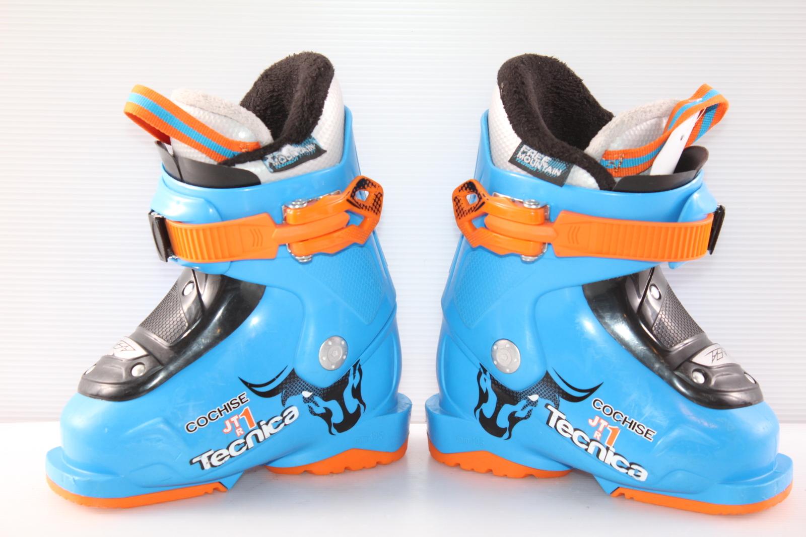 Dětské lyžáky Tecnica Cochise JT 1 R vel. EU25