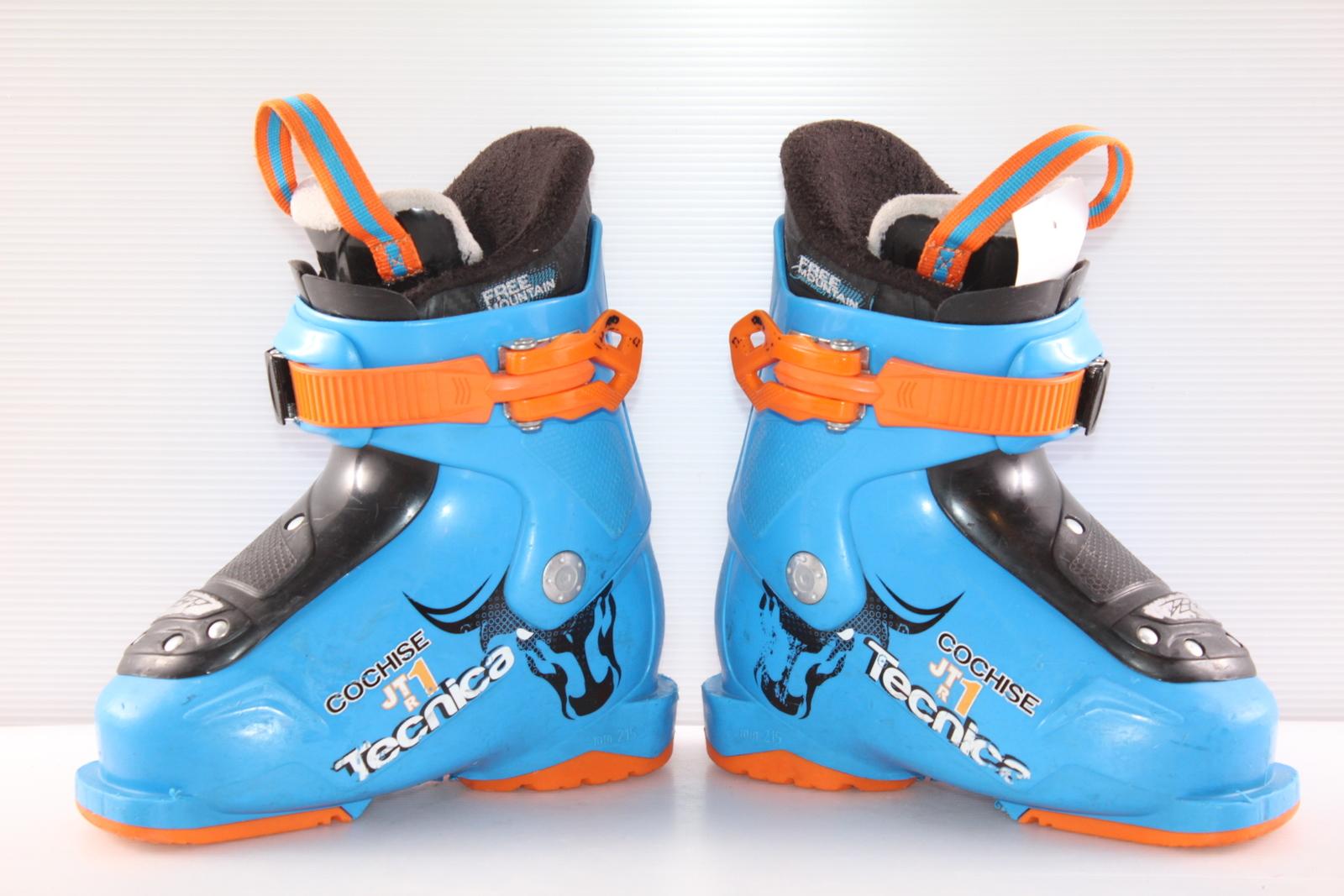 Dětské lyžáky Tecnica Cochise JT 1 R vel. EU26.5