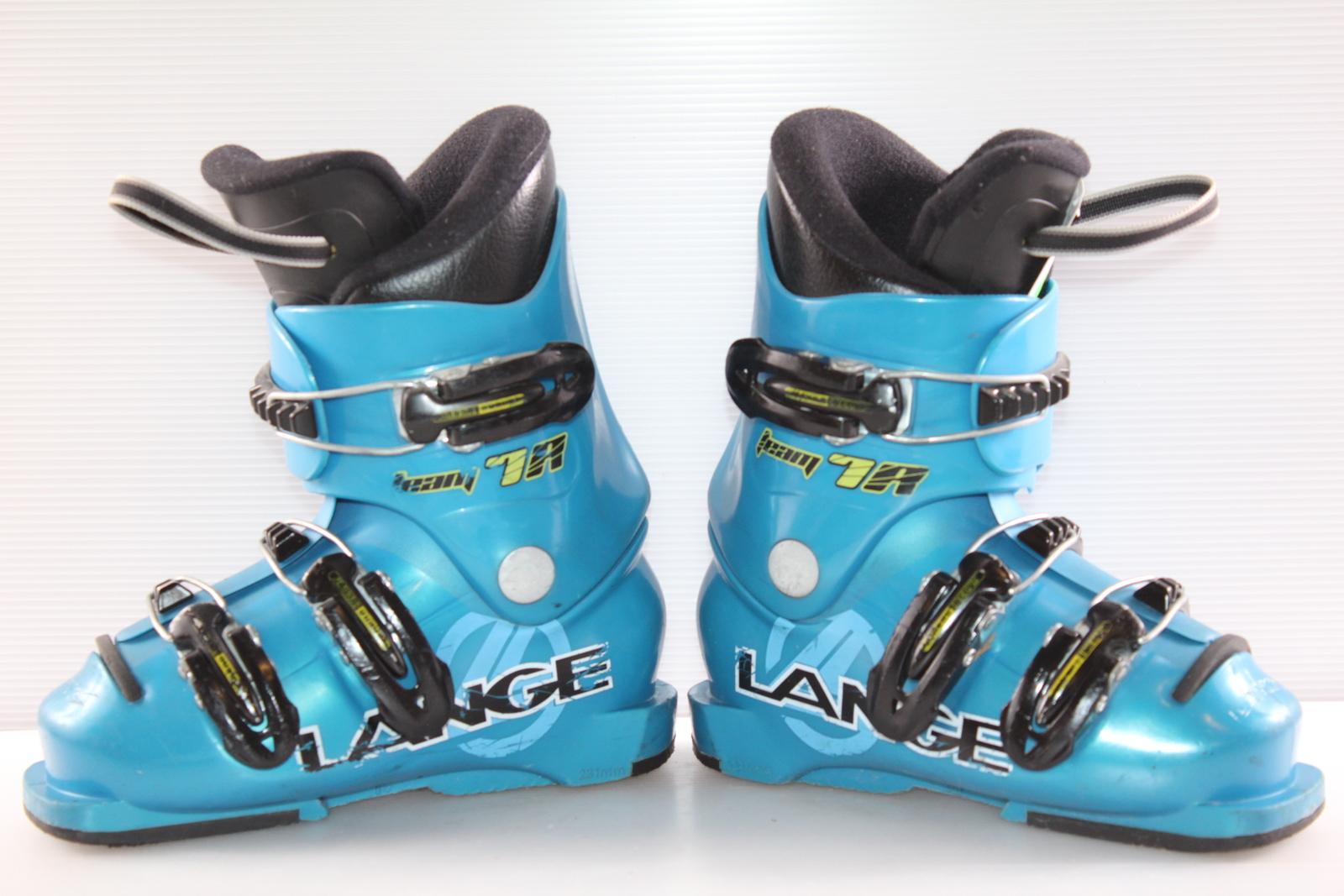 Dětské lyžáky Lange Team 7R vel. EU28