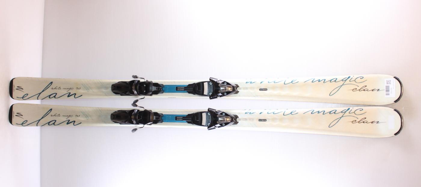 Dámské lyže ELAN WHITE MAGIC 158cm rok 2015