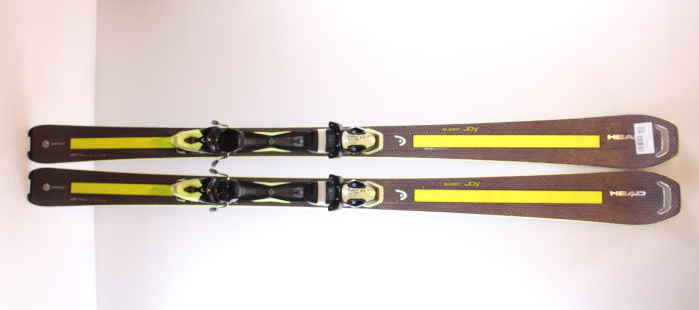 Dámské lyže HEAD SUPER JOY 163cm rok 2015