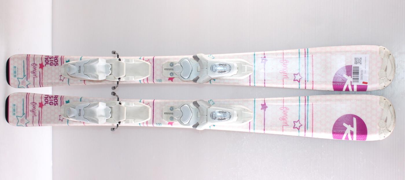Dívčí lyže ROSSIGNOL FUN GIRL 100cm rok 2015