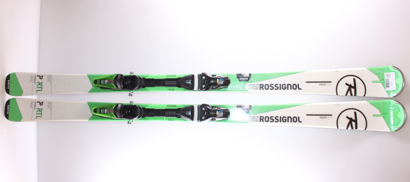 Lyže ROSSIGNOL PURSUIT RTL WHITE/GREEN 142cm