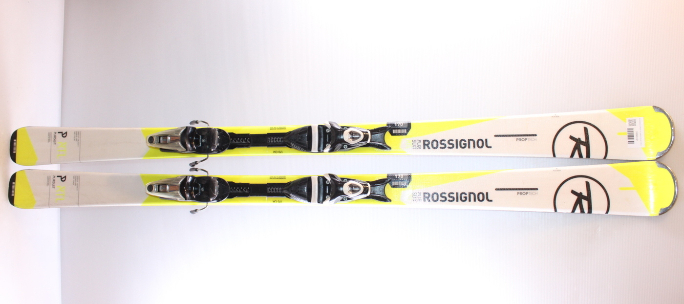 Lyže ROSSIGNOL PURSUIT RTL WHITE/YELOW 163cm