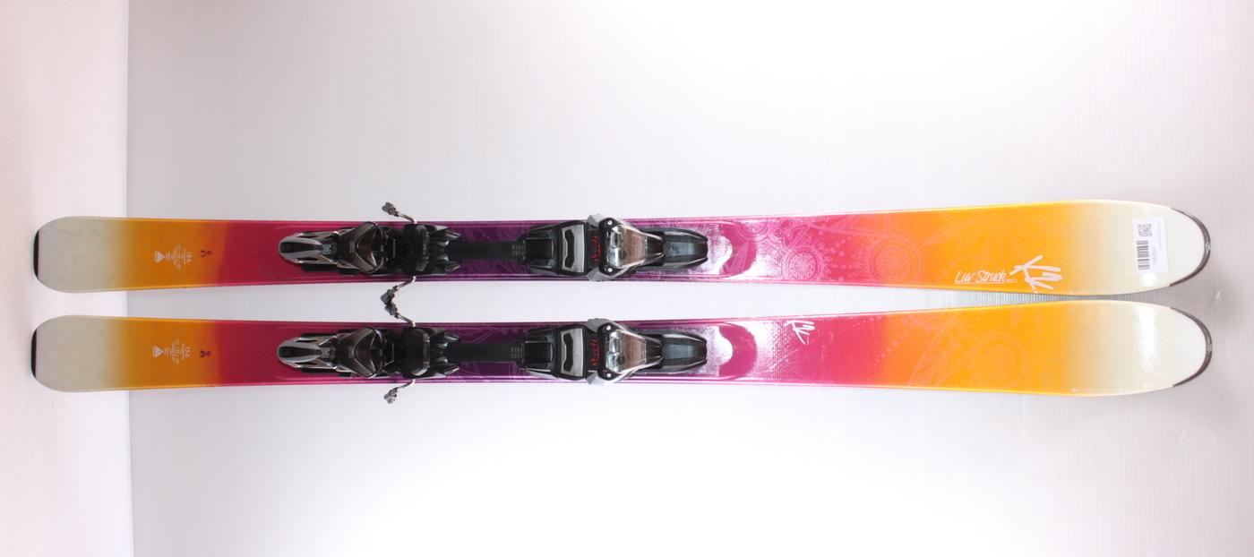 Dámské lyže K2 STRUCK LUV 80 156cm rok 2017