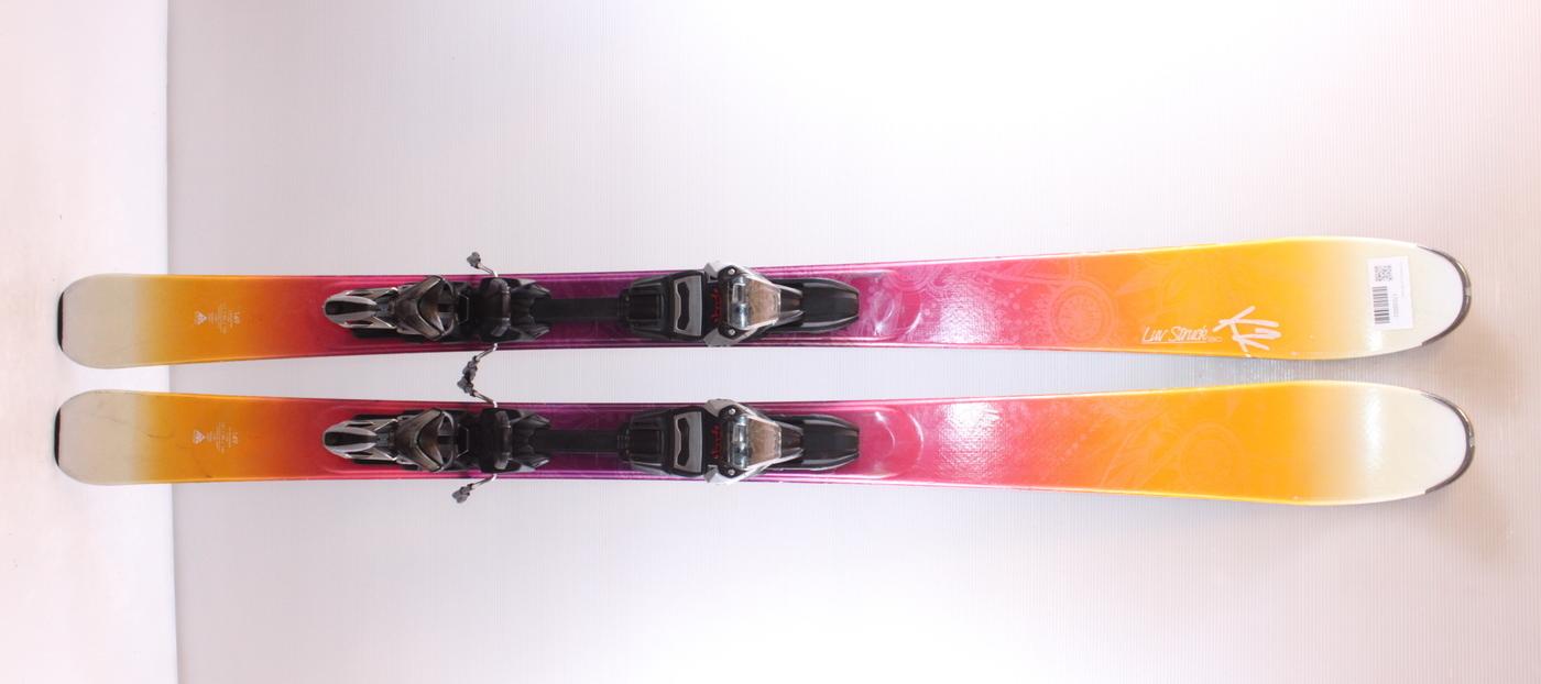 Dámské lyže K2 STRUCK LUV 80 149cm rok 2017