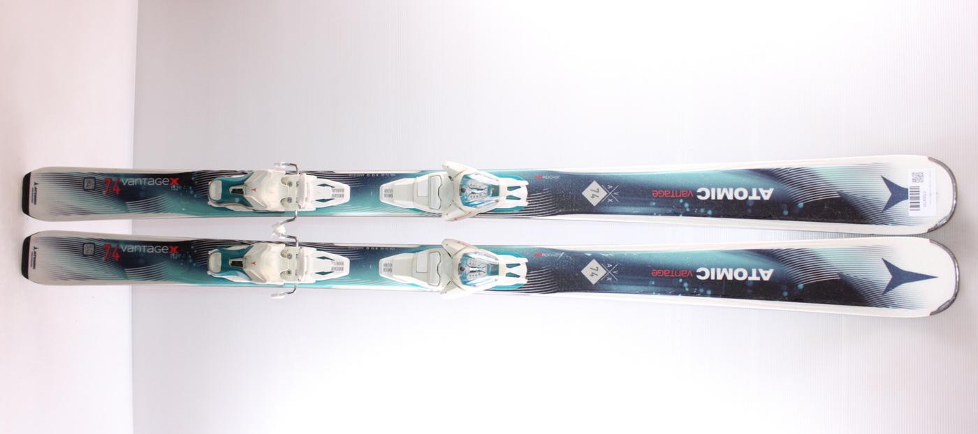 Dámské lyže ATOMIC VANTAGE X74 GREEN 152cm rok 2017