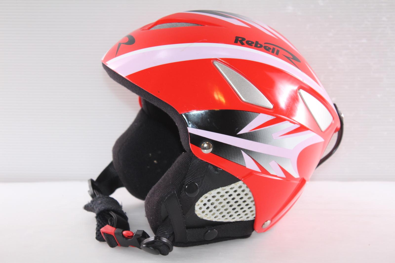 Dětská lyžařská helma Rebel  vel. 52