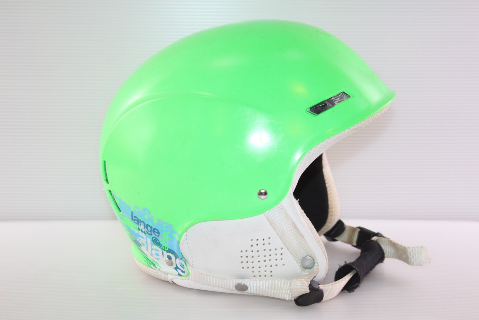 Dětská lyžařská helma Lange 6th sense vel. 60