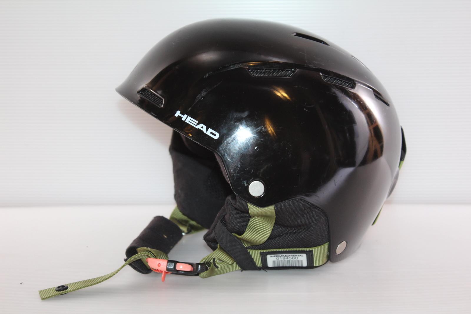 Lyžařská helma Head Air Black - posuvná vel. 60 - 62