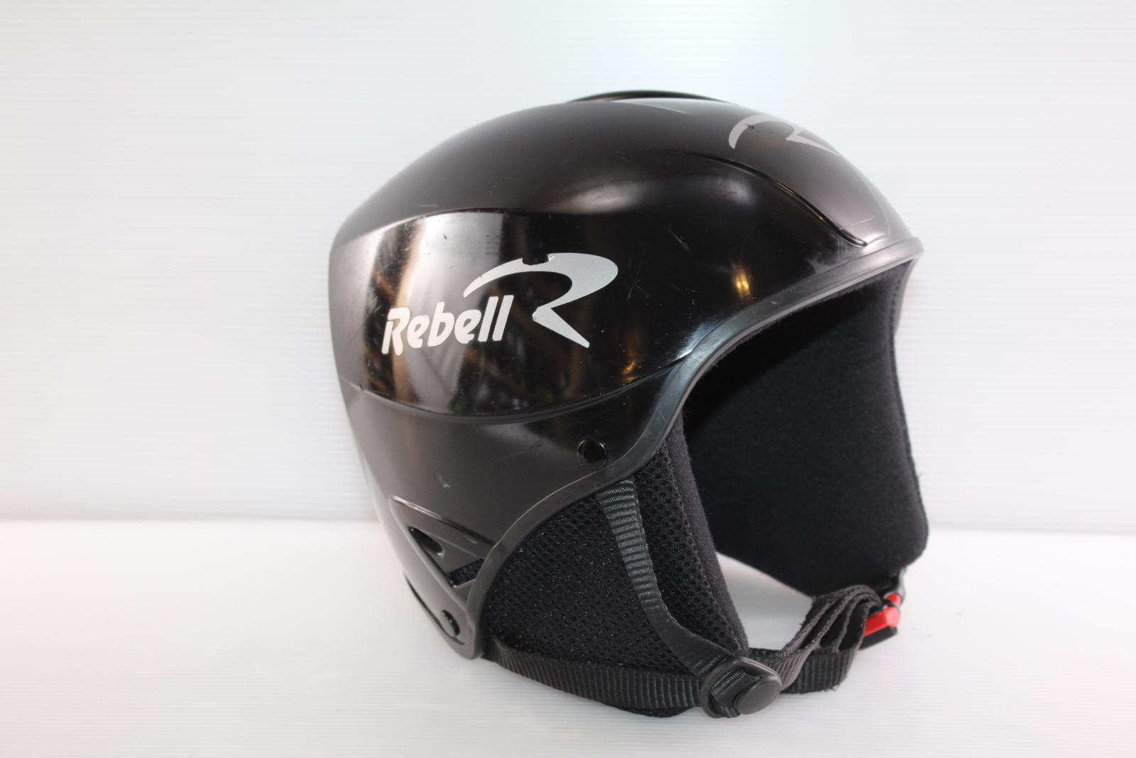Dětská lyžařská helma Rebel  vel. 50